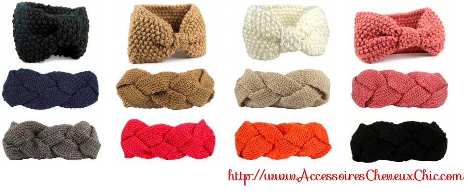 Bandeau chevuex en laine