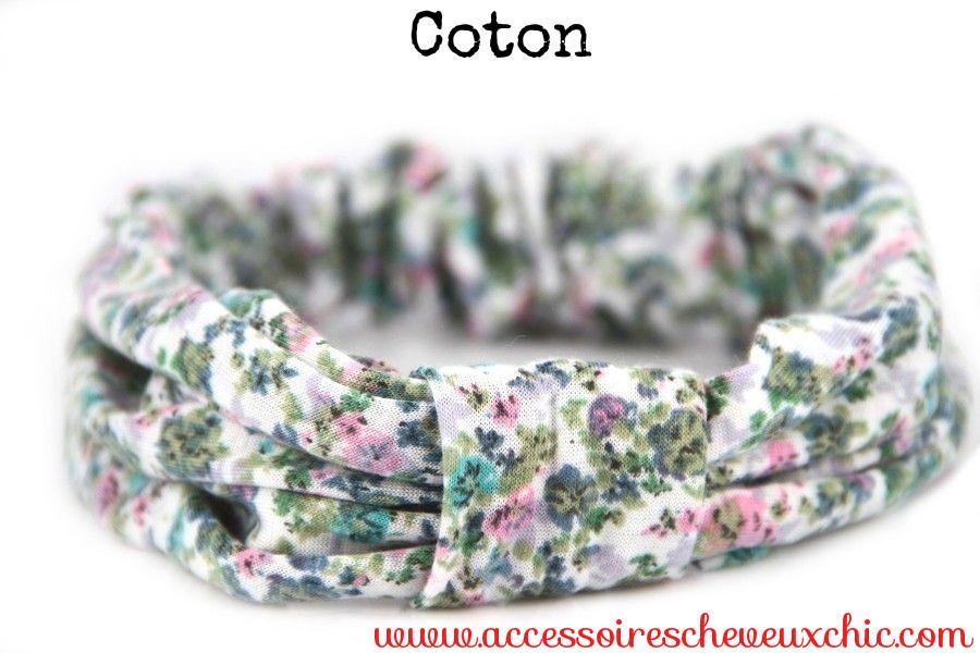 Gros bandeau en coton
