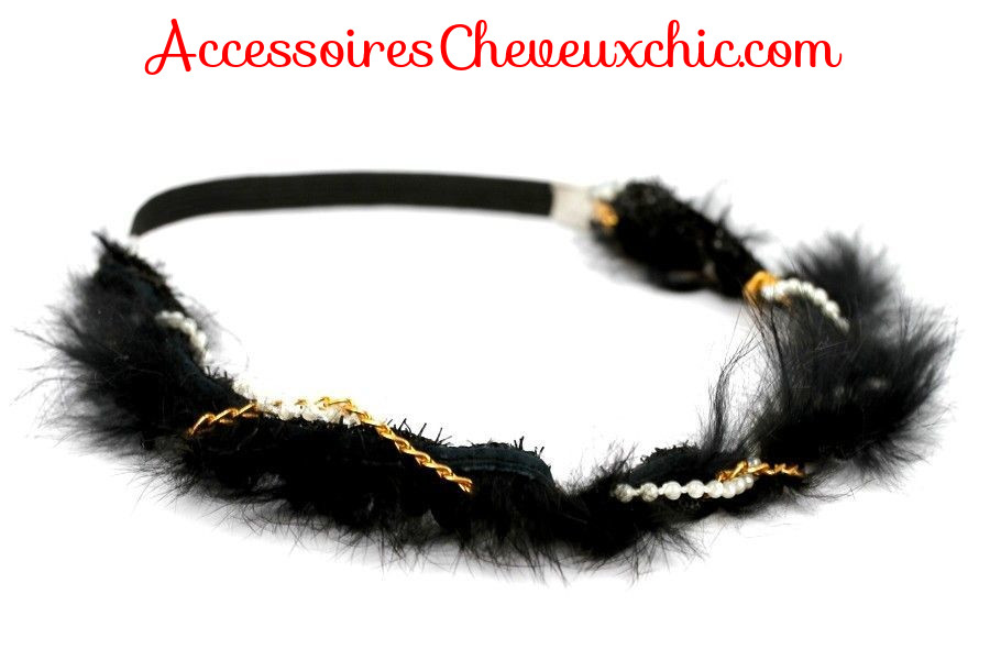 headband cheveu mariage charleston