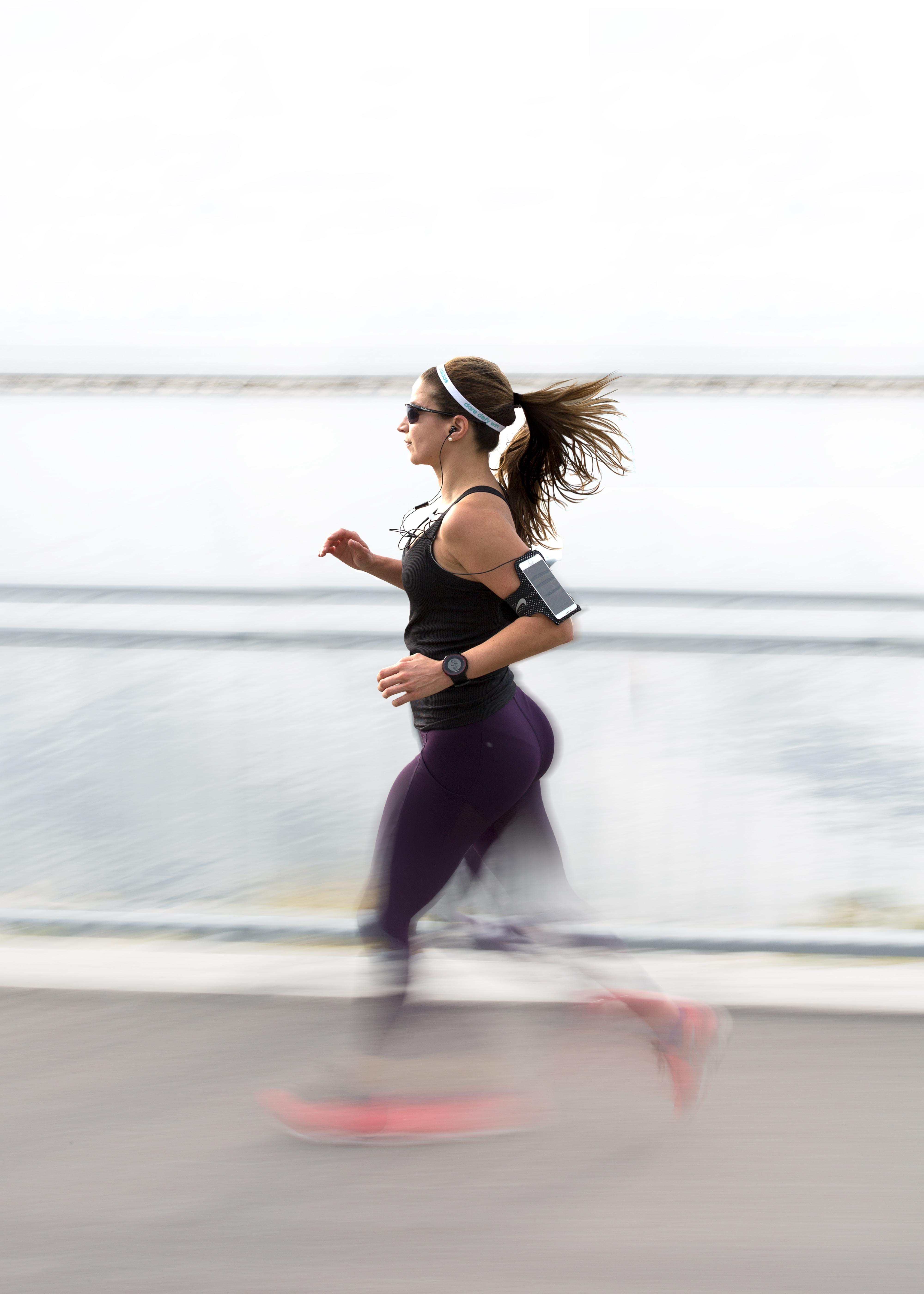 Bandeau cheveux l'accessoire du running